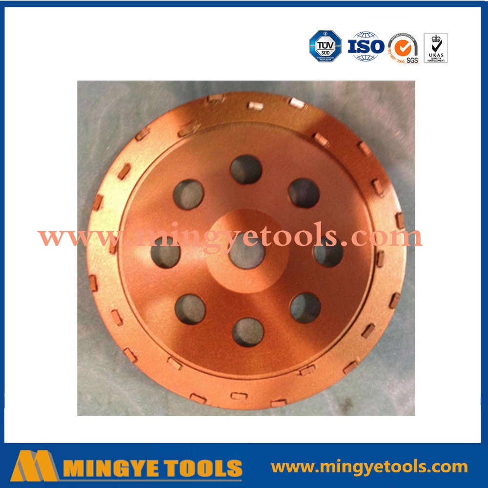 5 Inch PCD Diamond Grinding Cup Wheel for Concrete