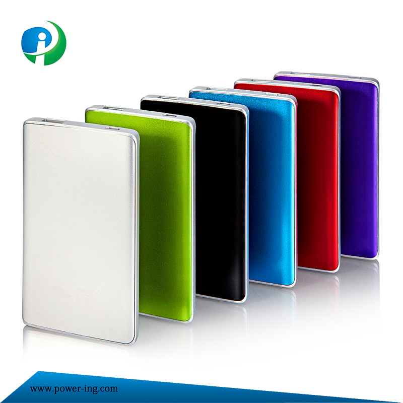 New Style 10000mAh High Capacity Aluminium Alloy Power Bank for Smart Phones