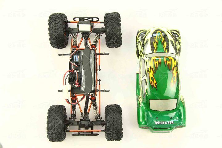 Rock Crawler Toy 1/10th Scale RC Electric Rock Crawler
