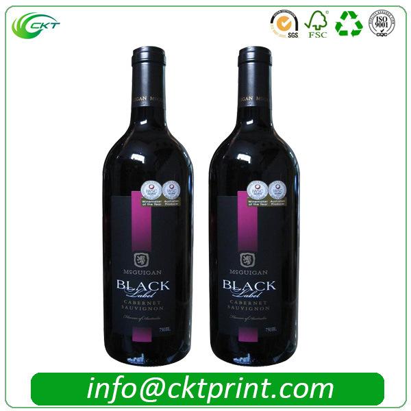 Cheaper Custom Wine Sticker Labels Printing in China (CKT-LA-413)