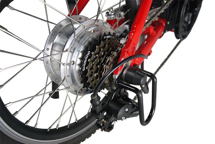 "20"" Electric Folding Bike with 250W Motor, 10ah Battery"