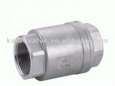 2PC Vertical Check Valve
