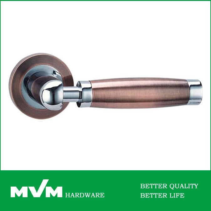 High Quality Zamak Rosette Door Lever Handle Z1243e3
