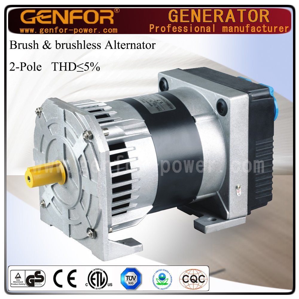 Italy Technology Brushless Alternator with Capacitor 1-8kVA