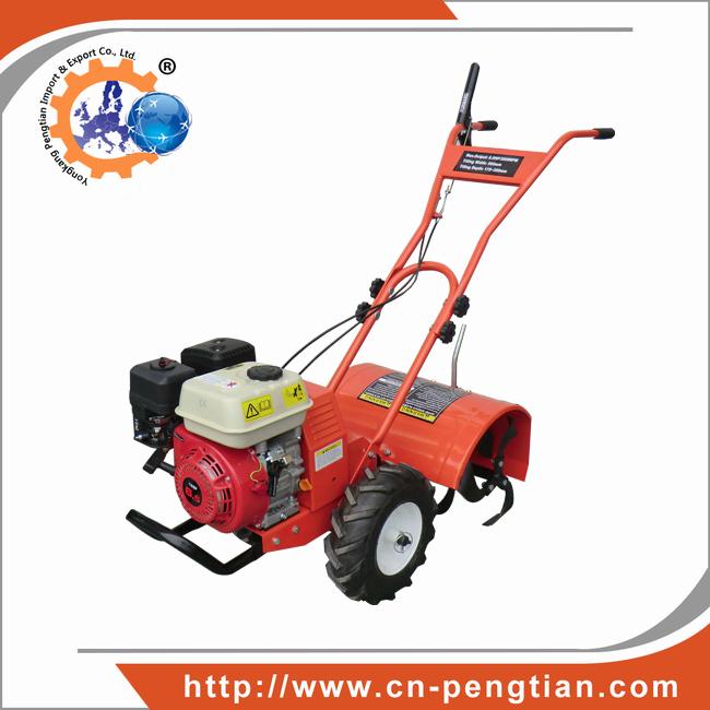 196cc Gasoline Engine Tiller Cultivator