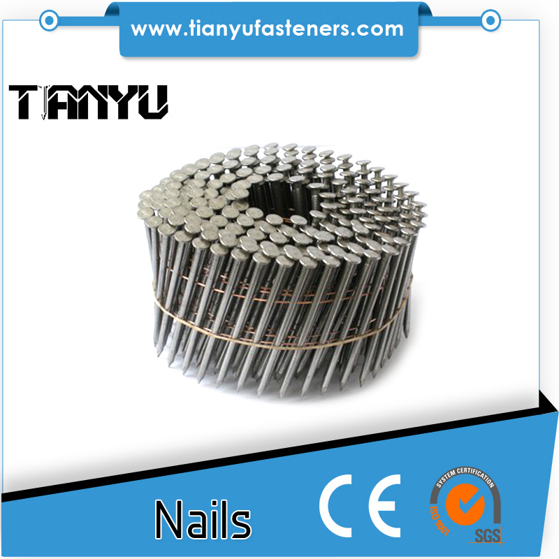 15 Degree Coil Wire Iron Nails