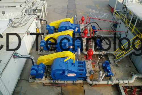 Land Drilling Rig 3nb1600 Electric Driving Pump Device
