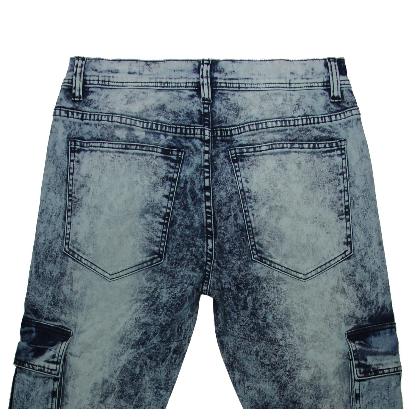 High Quality Men′s Snow Washing Jeans (MYX16)