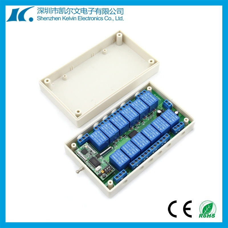 5km 12 Channel RF Receiver Switch Kl-K120la-12CH