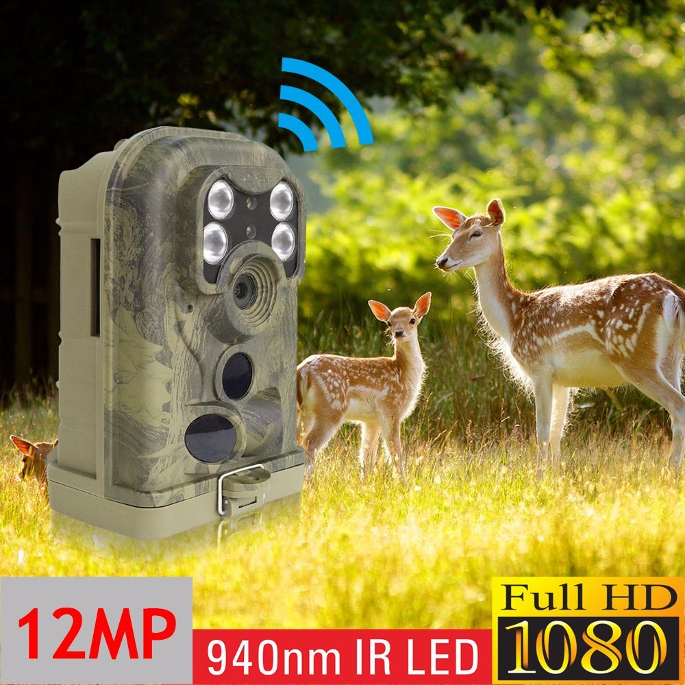 12MP 720p with 940nm Invisible IR Support SMTP GPRS GSM MMS Hunting Camera