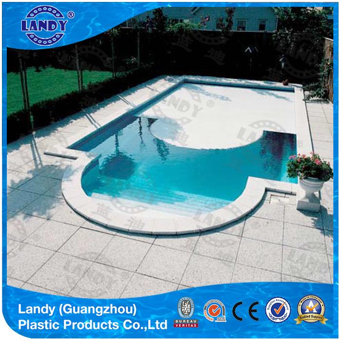 Aesthetic Pool Cover Slats, Transparent Polycarbonate Slats