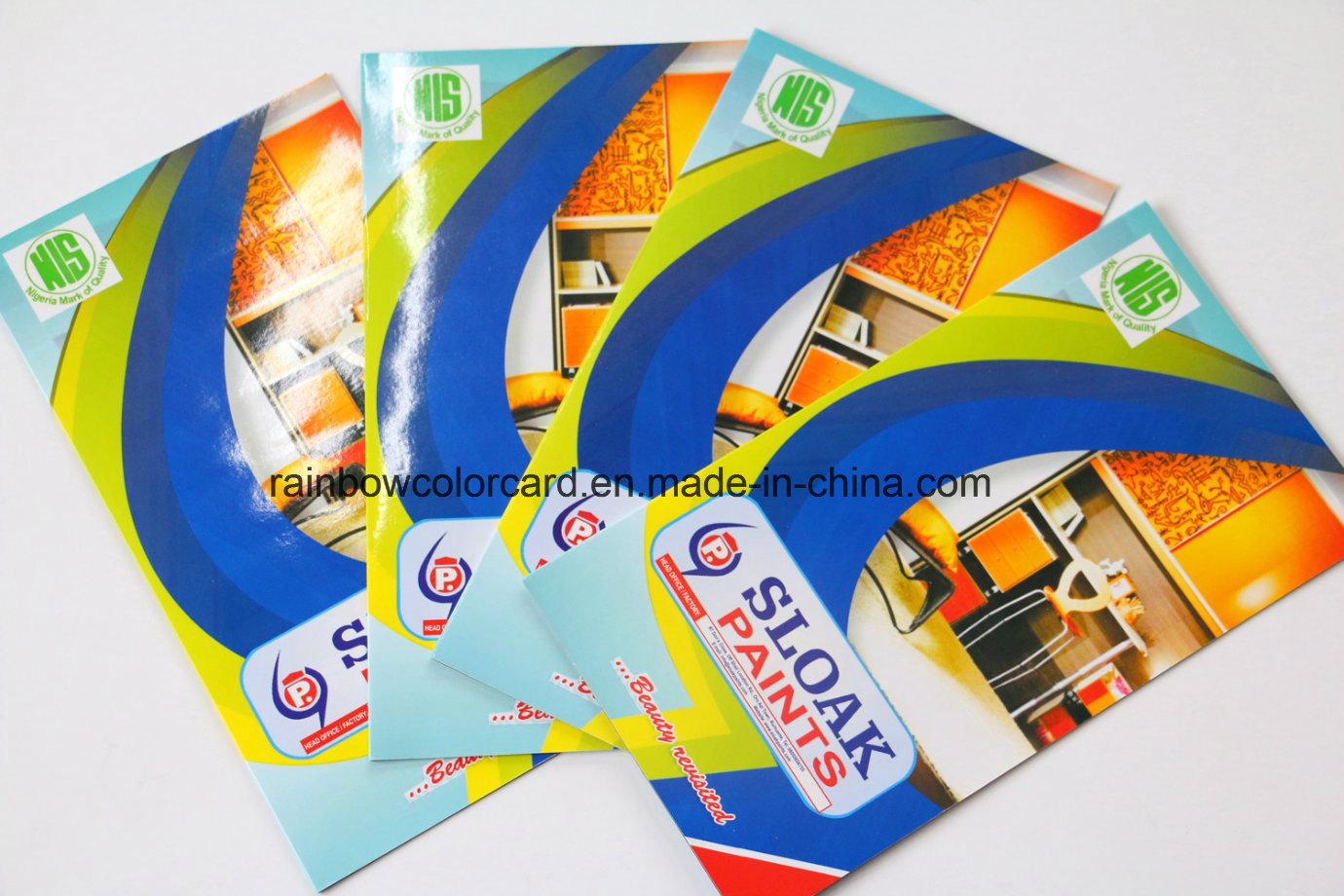 Full Color Printing Card Gloss Film Borchure