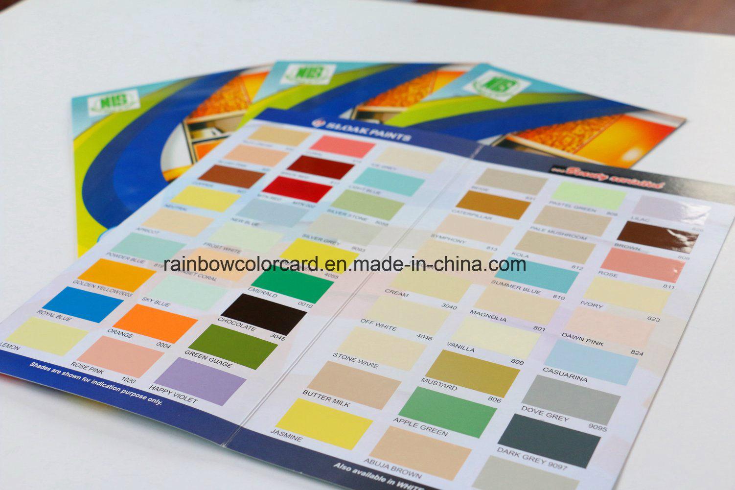 Full Color Printing Card Gloss Film Borchure