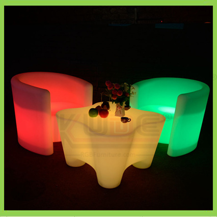 LED Glowing Bar Furniture Party Furniture Coffee Table Furniture