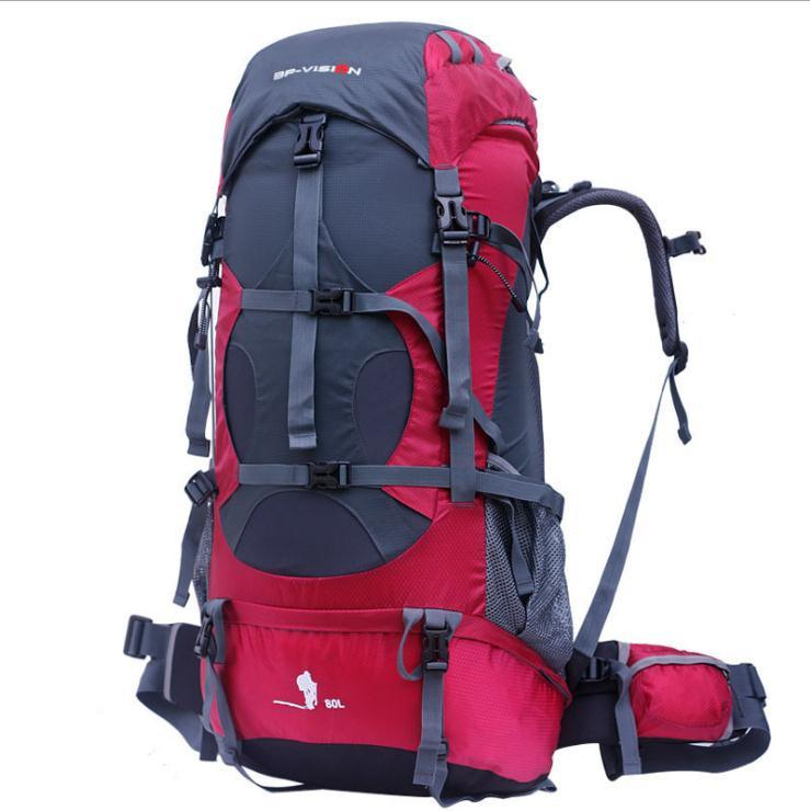 Waterproof Hot Sell Quality Camping Travel Hiking Bagpack Backpack Bag