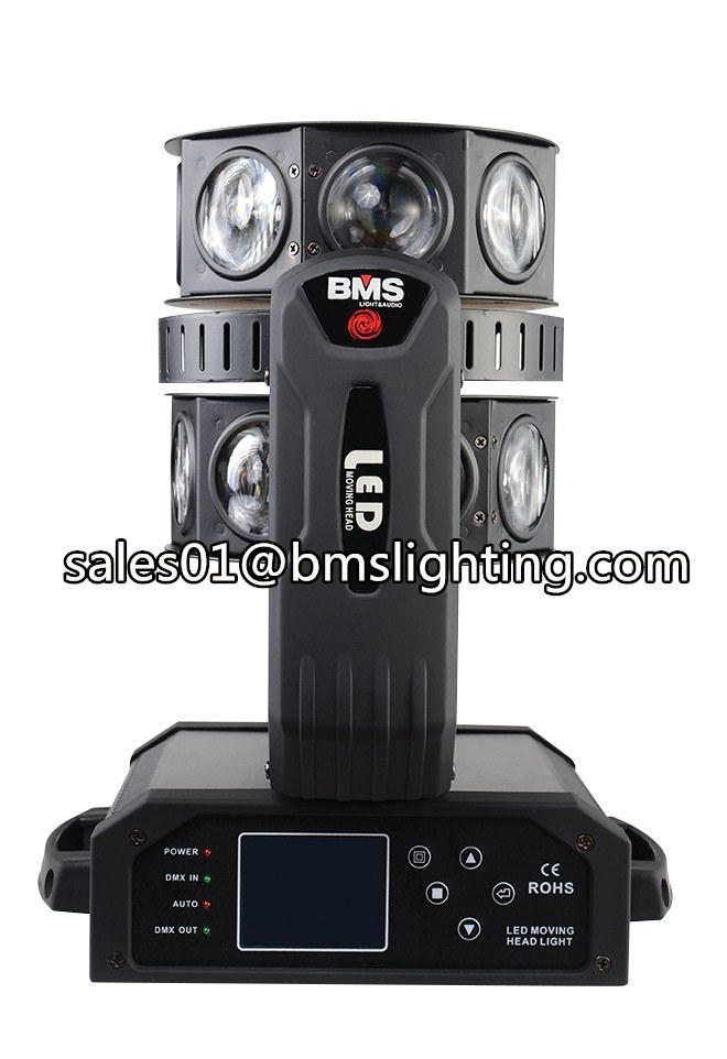 16*15W RGBW LED Moving Head Double Flying UFO Beam Light (BMS-8828)
