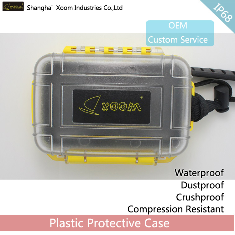 Outdoor Plastic Box- IP68 Dry Box Watertight Gadgets Storage Box