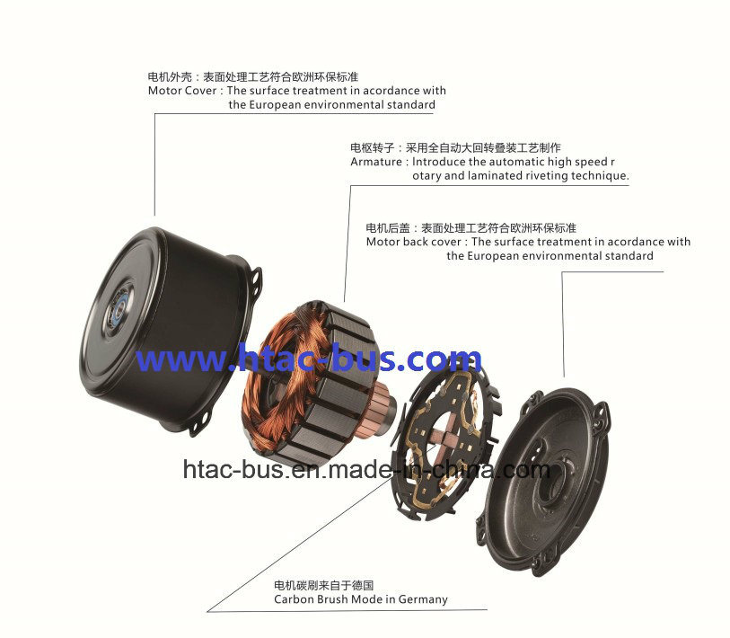 Spal Evaporator Blower and Spal Axial Fan Bus A/C Parts