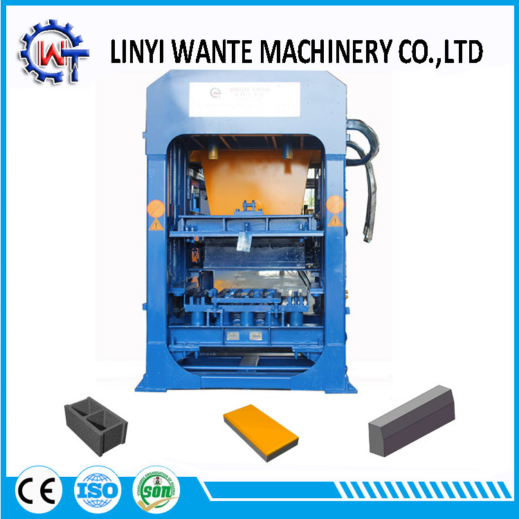 Construction Equipment Qt6-15 Block Forming/Fly Ash Brick Making Machine