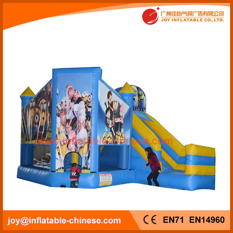 2017 Blow up Inflatable Jumping Bouncy Castle Combo for Kids (T3-211)