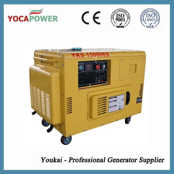 10kVA Soundproof Electric Portable Generator Diesel Genset