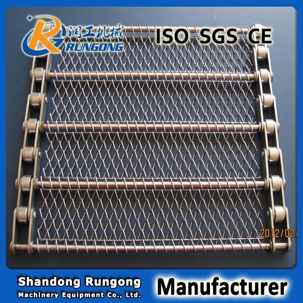 Chain Link Wire Mesh Conveyer Belt