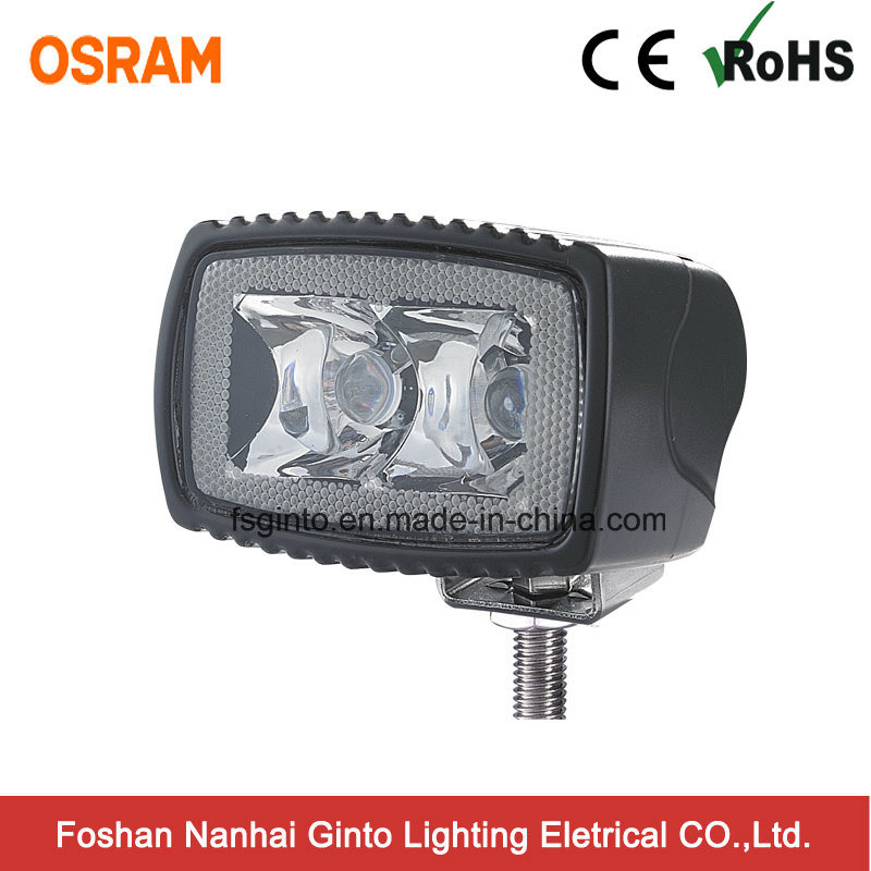 Rectangle 10W Osram LED Spot Work Light for Bicycle