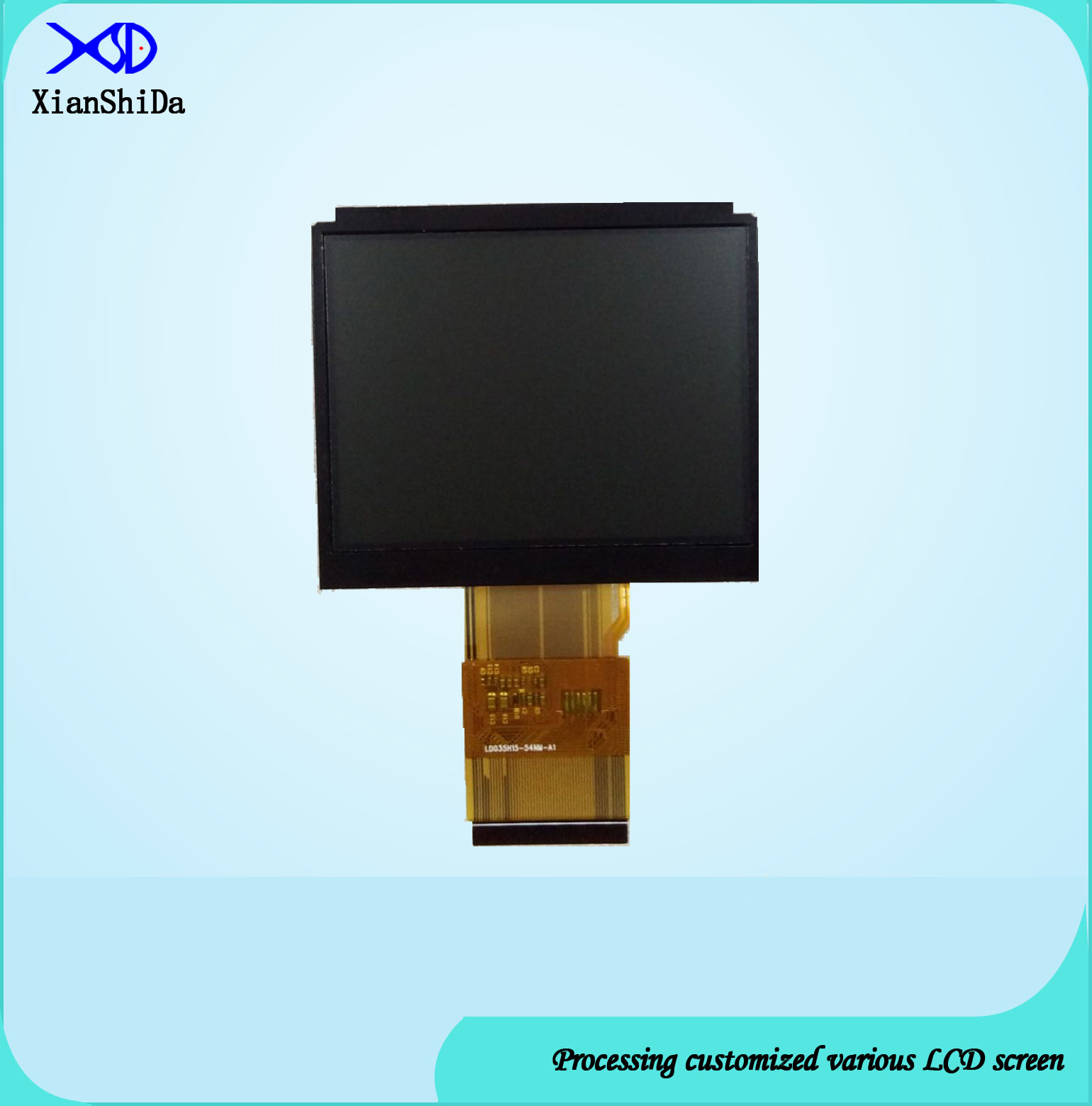 Full Viewing Angle 3.5 Inch TFT LCD Display with 2000CD/M2 Brightness LCD Screen
