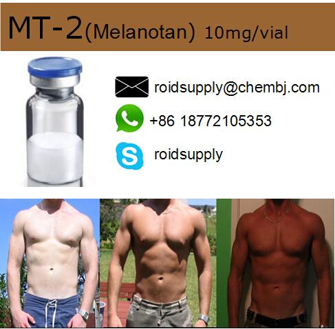 High Purity Sunless Tanning Peptide Melanotan II /Mt-2/Mt 2 10mg/Vial