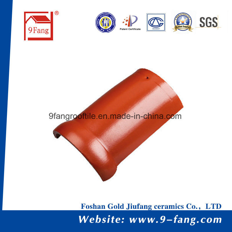 Building Material Steel Roof Tile Interlocked Clay Roof Tile Villa Ceramic Roofing Tile Hot Selling 300*400mm Building material Made in China