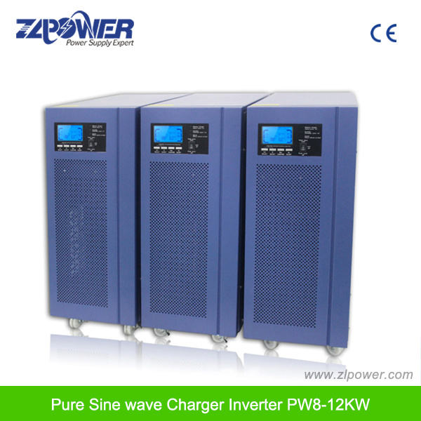 Hybrid Solar Inverter 12kw Pure Sine Wave Inverter with Charger