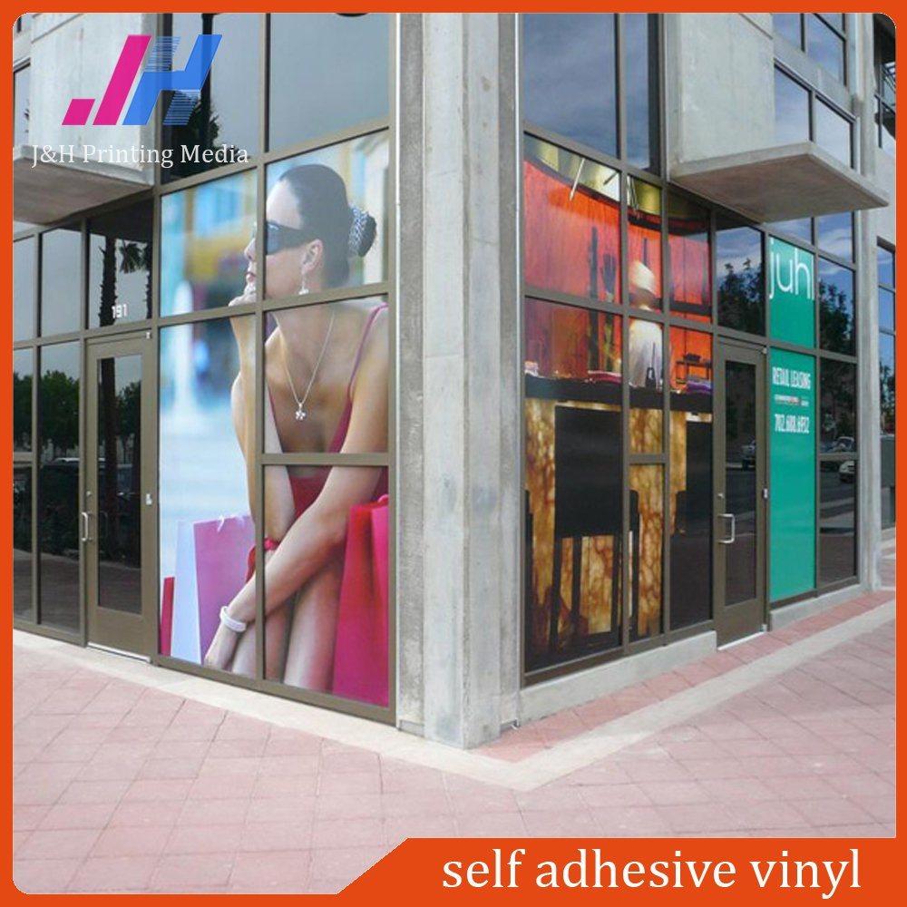 Glossy Printing Materials PVC Vinyl Sticker