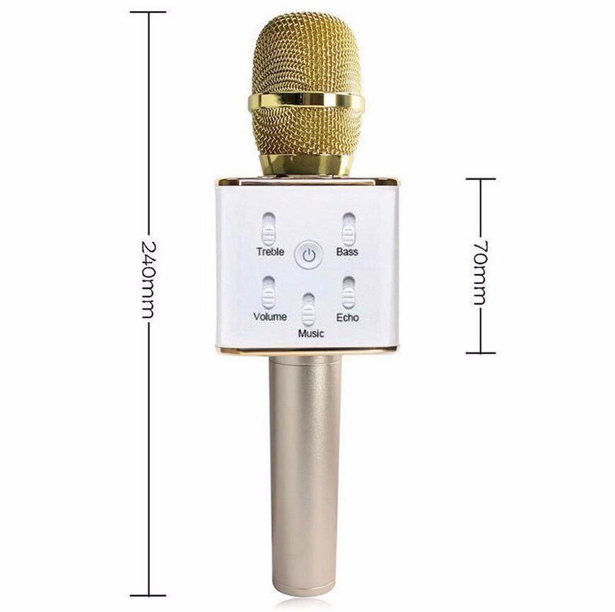 2017 Hot Sale Wireless Loudspeaker Condenser Handheld Dynamic Microphone