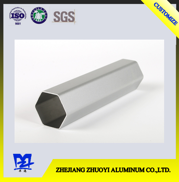 Aluminum Alloy Oxidation Six Angle Pipe Sections