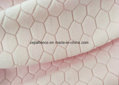 Jacquard Micro Fleece with Pentagon-Type