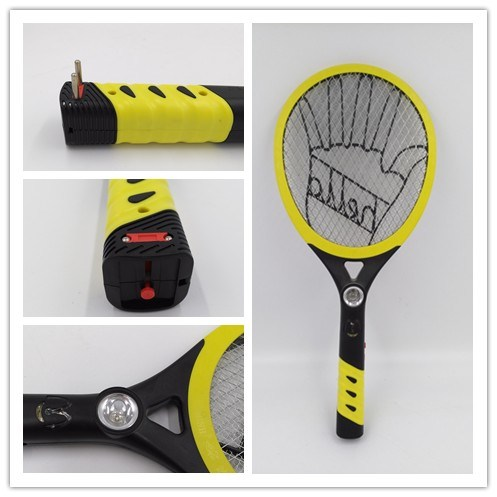 High Quality Design ABS Electronic Mosquito & Insect Killer Swatter Bat with LED Light