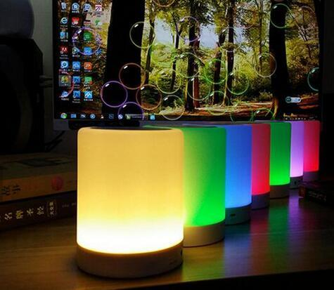 7 Colors Changing Wireless Baby Light Portable LED Bluetooth Speaker