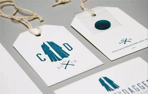 Well-Designed Good Texture Hang Tag for Clothing or Other Products
