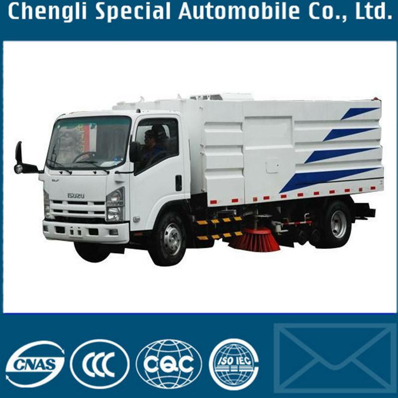 LHD 4X2 6000liters Isuzu Road Sweeping Truck