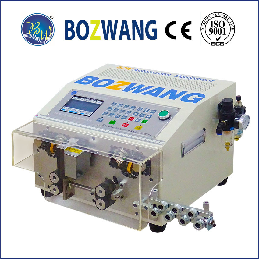 Computerized Cutting and Stripping Machine for Flat Sheathed Cable