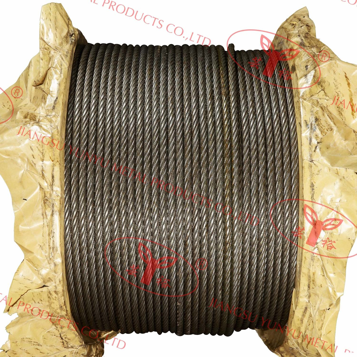 Compact Strand Steel Cable - 8xk26ws+Pwrc