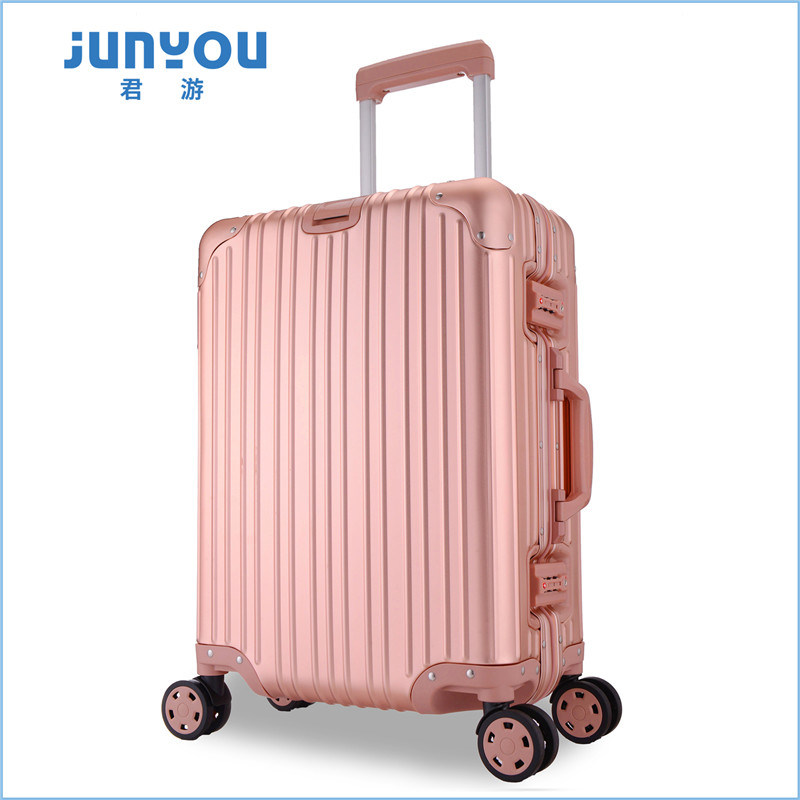 Good Quality New Design 20′′ All Aluminum Frame Luggage