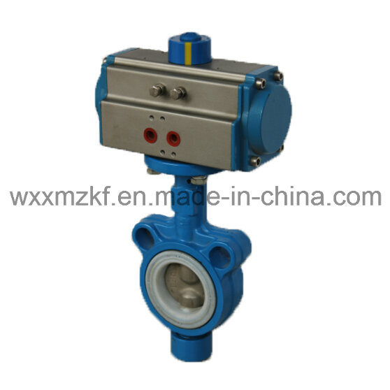 Auto Control Butterfly Valve with Pneumatic Actuator (CE)
