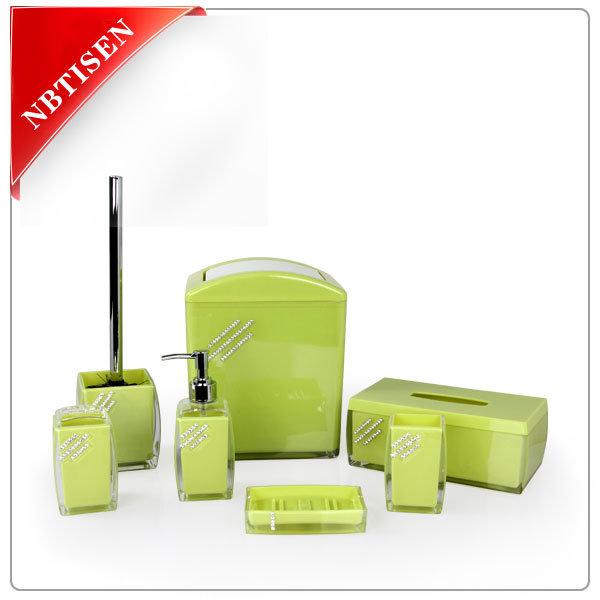 Acrylic/Plastic Bathroom Accessories Set (TS8016-5)