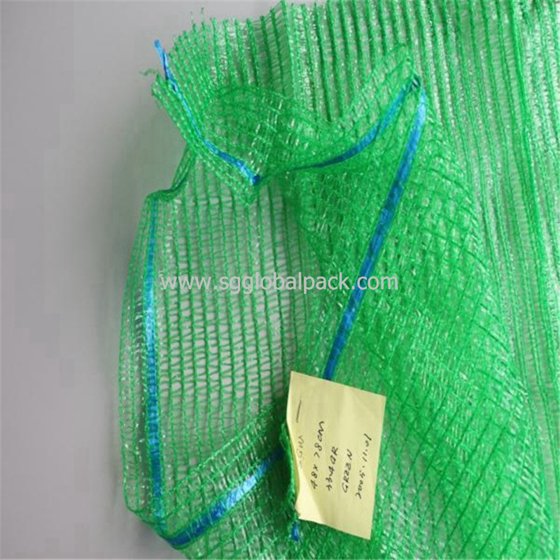 Chinese Manufacture Agricultural PE Circular Raschel Orange Bag