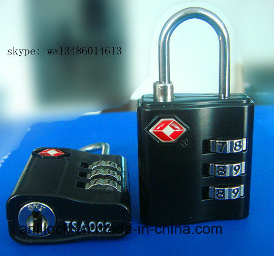 Tsa Combination Padlock, Travel Lock (TSA-320)