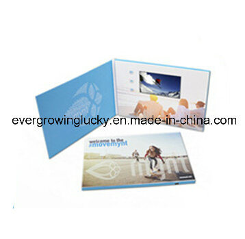 5.0′′ Customized LCD Video Wedding Card