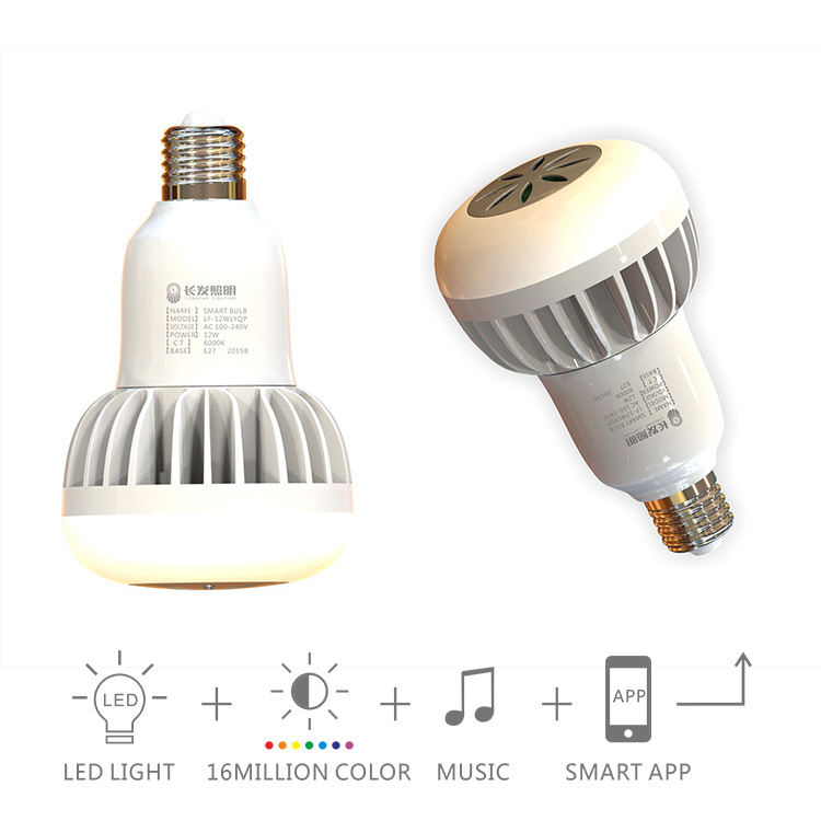 12W E27 Smart LED Lighting Bulb