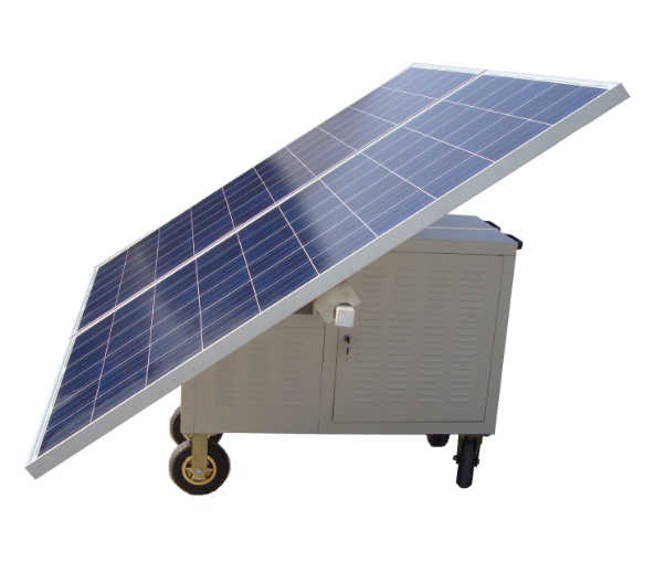 Ane Newly 500W Mobile Solar Power Supply Station for Home Use