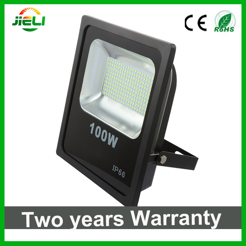 10W/20W/30W/50W/100W/150W/200W SMD5730 Slim Black Outdoor LED Flood Light